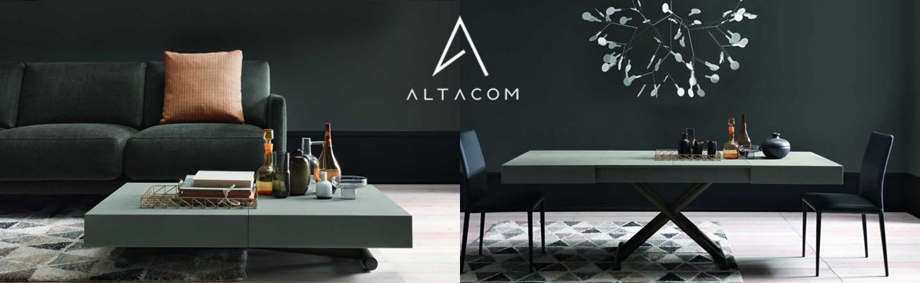 Tavolini trasformabili in tavolo da pranzo Simoni Arreda