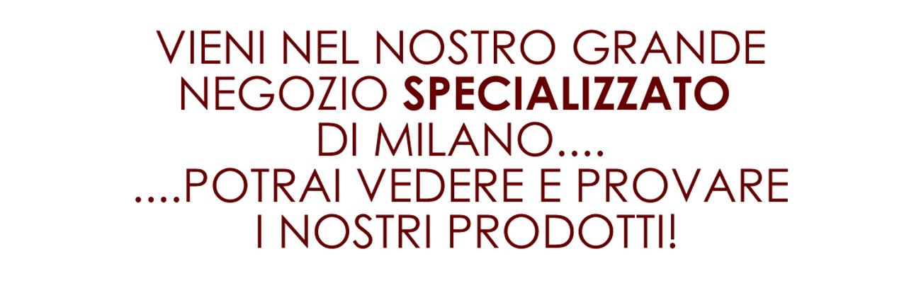 Negozio di arredamento trasformabile a Milano