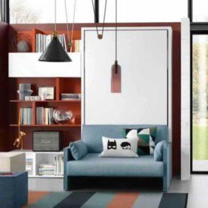 Letto a scomparsa Altea Sofa con divano incorporato