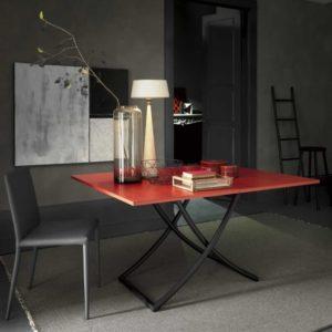 Tavolino trasformabile con apertura a libro Sakura