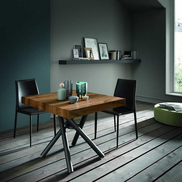 Tavolino trasformabile e allungabile Levante