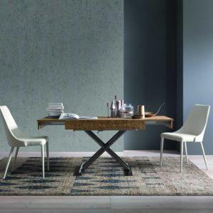 Tavolino trasformabile in tavolo da pranzo Compact