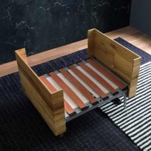 Tavolino trasformabile in tavolo e letto Tavoletto
