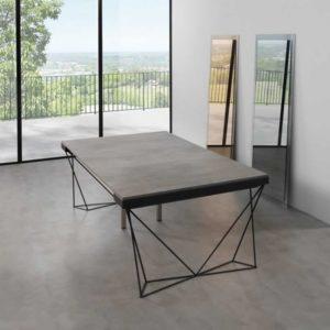 Tavolo a consolle Excel 120 gambe metallo (2)