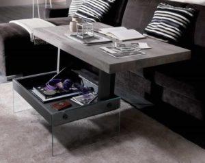 Tavolino alzabile Bellagio