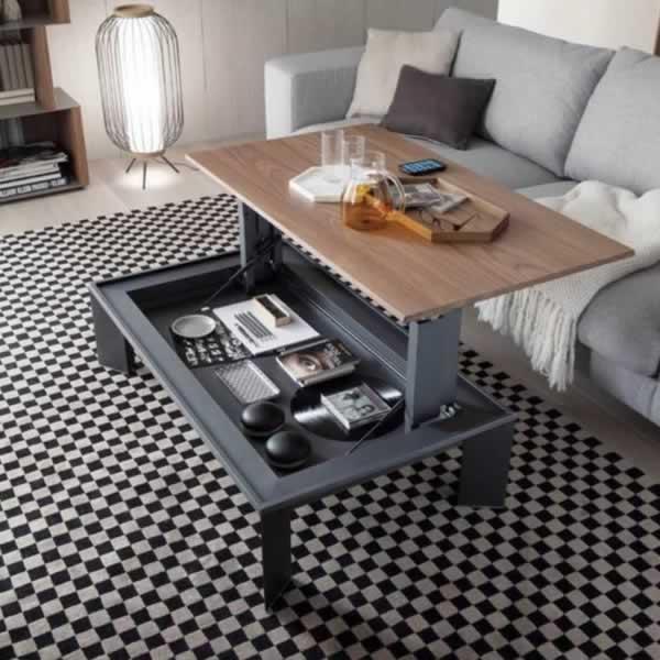 Tavolino alzabile Metrino