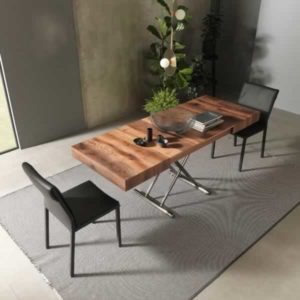 tavolino trasformabile in tavolo calypso