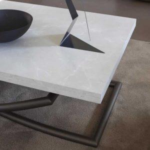 tavolino saliscendi sakura con apertura a libro